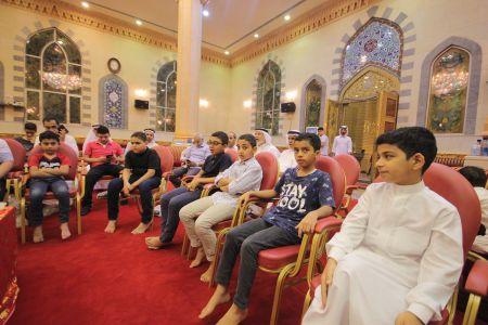 الاستاذ عبدالحسين سلمان - التغطية المصورة للختمة القرانية ليلة 30 من شهر رمضان – 1440 هـ 13