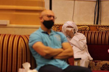 ياسين الجمري - التغطية المصورة لمحاضرة ليلة 30 رمضان 1442 هـ 15