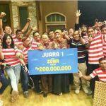 Dukungan Istri Bupati Sumenep, Taman Kece Jadi Juara I Net TV