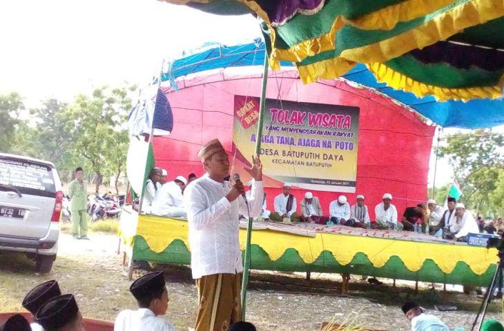 GP Ansor Sumenep Ajak Masyarakat Tolak Investor Borong Tanah