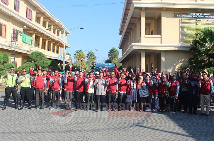 STKIP PGRI Sumenep Lepas Mahasiswa KKN di Kecamatan Ganding