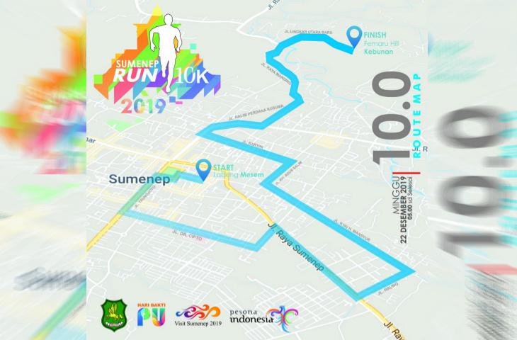 Digelar Besok, Sumenep Run 10K 2019 Bakal Diikuti Empat Pelari Mancanegara