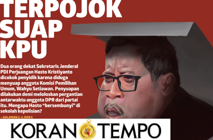 Sekjen PDI-P Hasto dan Jejak Dugaan Suap ke Komisioner KPU