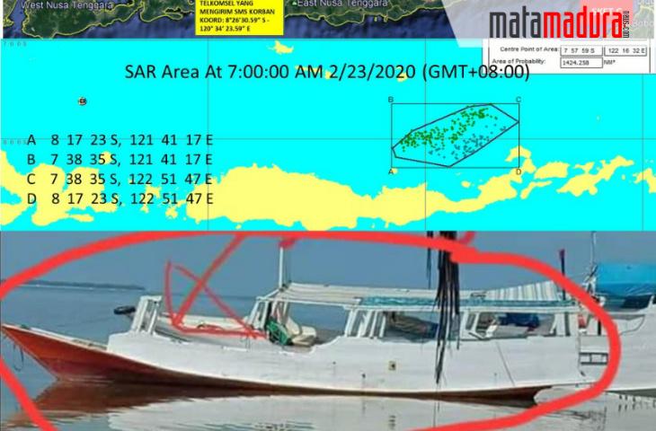 Begini Kronologi Ditemukannya Perahu Rombongan Pengantin di Pulau Sitangger Sulawesi Selatan