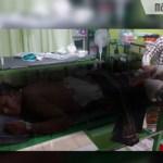 Gegara Asmara, Warga Konang Bangkalan Dibacok