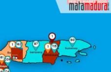 Ter-Update Covid-19, Bangkalan Masuk Zona Merah