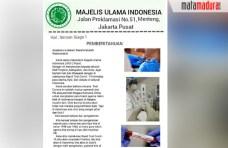 Surat MUI: Ulama, Kiai dan Ustadz Hati-hati Rapid Test. CEK FAKTA