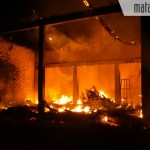 Toko Loak Onderdil Motor di Jenangger Terbakar, Ratusan Juta Melayang