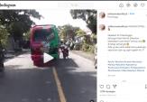 Viral, Polisi Lalu Lintas di Probolinggo Ditabrak MPU