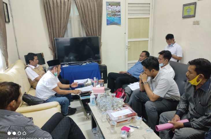 Tak Lolos Skoring, Bacakades Desa Perreng Datangi DPMD Bangkalan