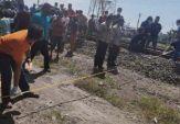 Kakak Adik di Ngawi Tewas Setelah Ditabrak dan Terseret Kereta Api
