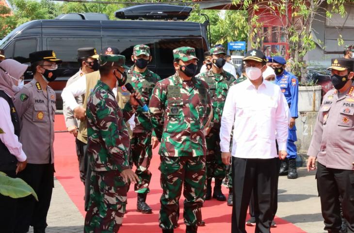 Satu Kompi Pasukan Disiagakan Bantu Penanganan Covid-19 di Bangkalan