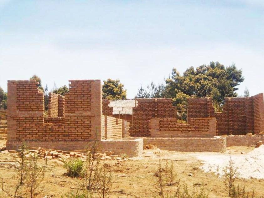 Baubeginn eines Anamed-Gemeinschaftshauses