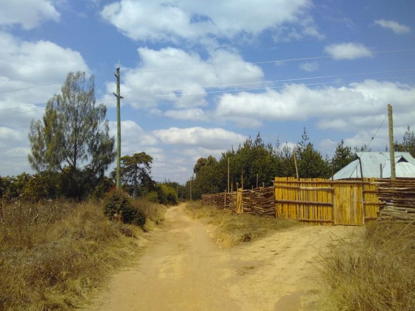 Beginn Elektrifizierung von Matanana