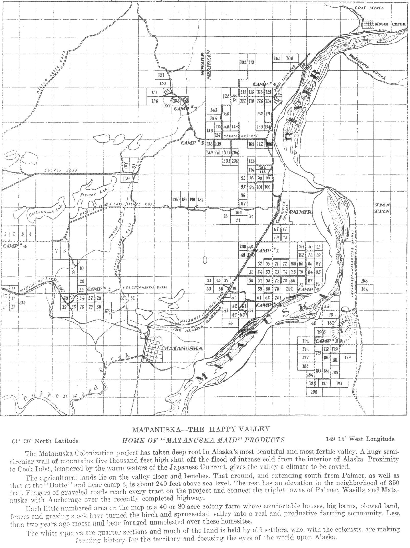 Maps « The Matanuska Colony Barns