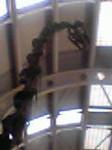シカゴ空港の恐竜