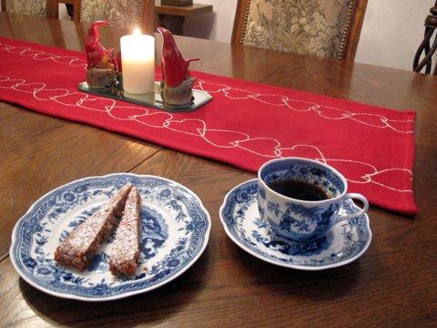Panforte di Siena,til kaffen