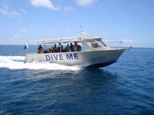 Dive Me, custom built dive vessel on Kadavu