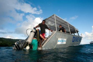 Dive Boats at Matava, Kadavu, Fiji