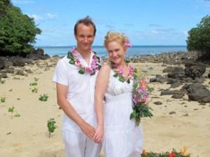 Magnus & Sylvia Matava Wedding on private beach in Fiji