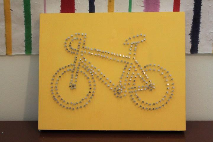 Bicycle String Art
