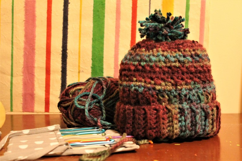 One Day Crochet Winter Hat