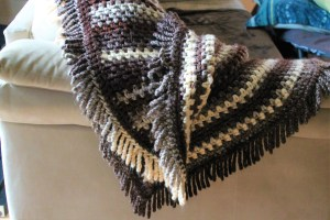 cottage blanket