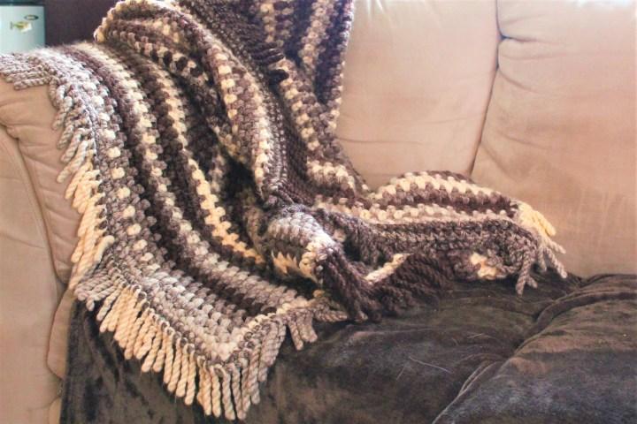 cottage blanket