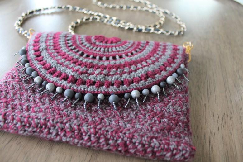Crochet Mandala Clutch
