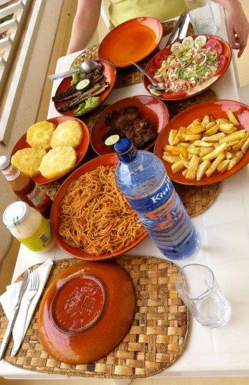 Un déjeuner au Burundi