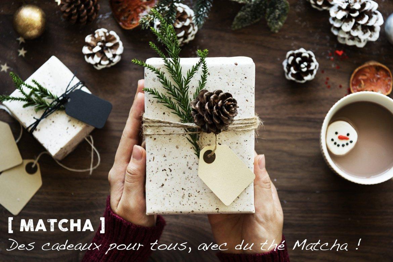 Des cadeaux de Noël au thé Matcha pour toute la famille