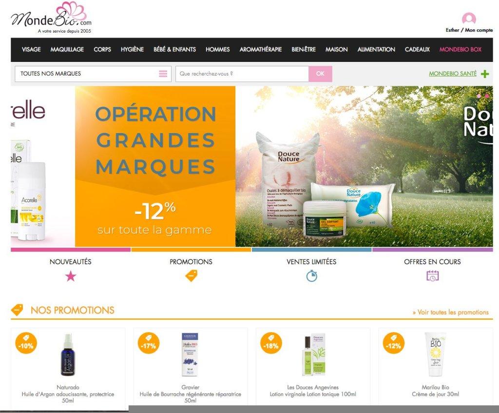 Site web www.mondebio.com