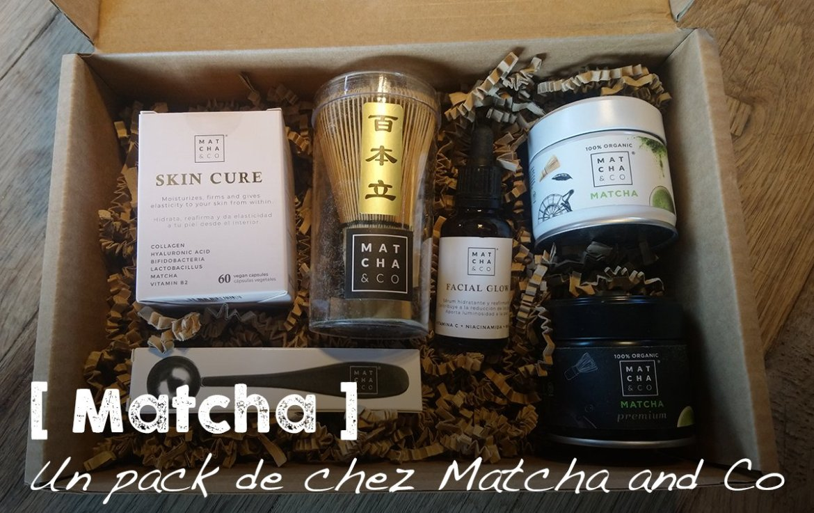 Une box de chez Matcha and Co
