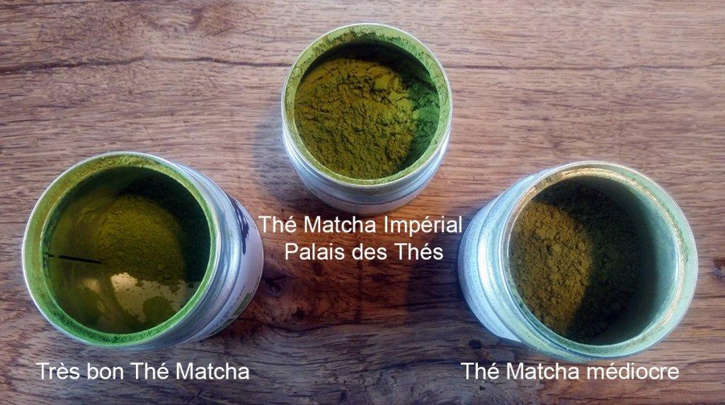 Comparaison de Matcha