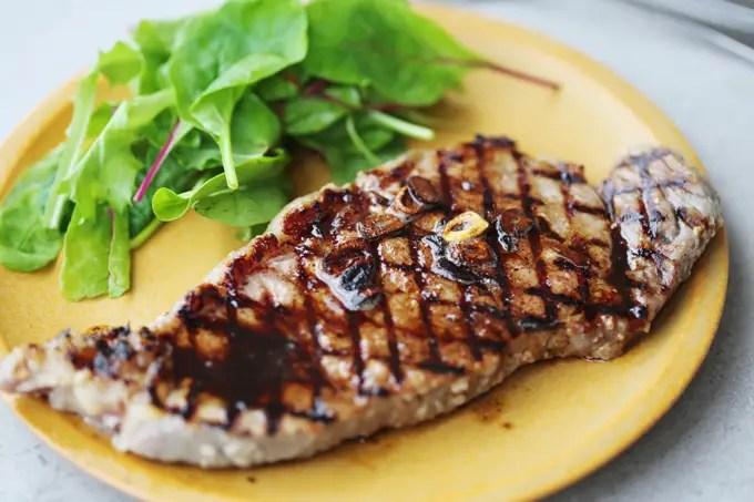 Japanese shio koji beef steak recipe