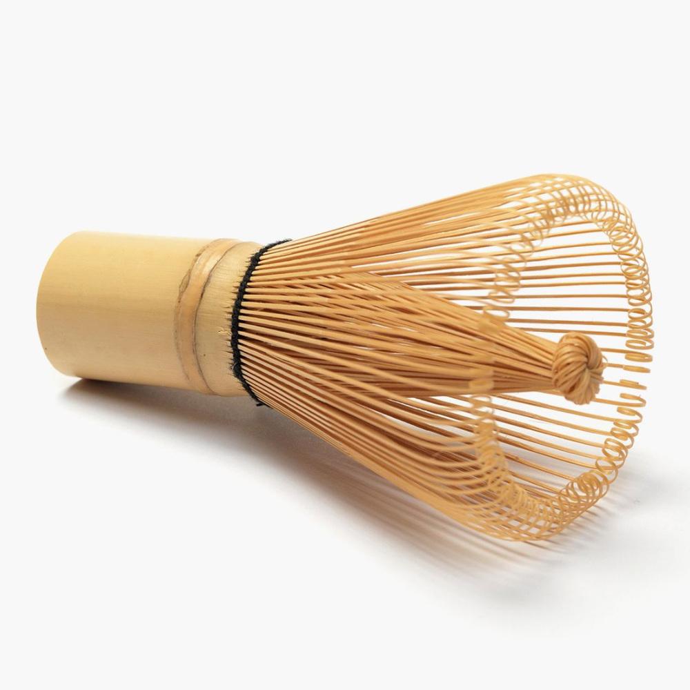 Service /à th/é Matcha Fouet /à th/é en bambou naturel Chasen Pr/éparant loutil Pinceau /à poudre Matcha Seventy-two