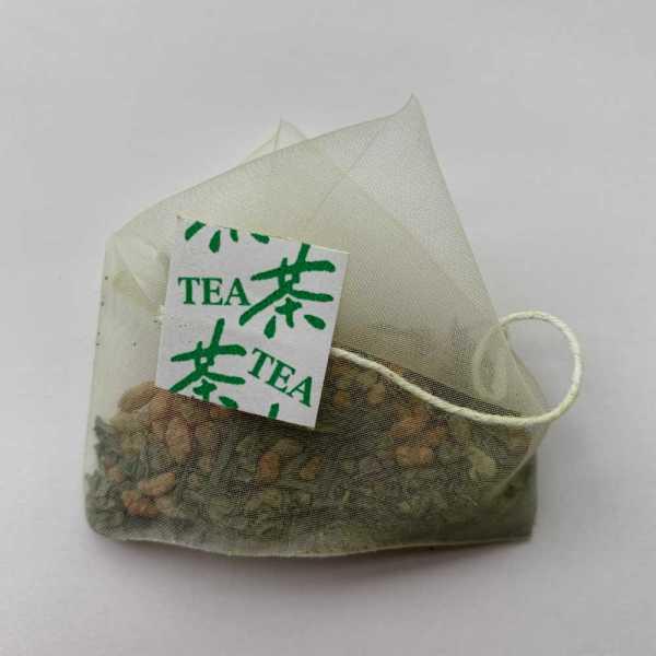 Sachet de thé vert genmaicha