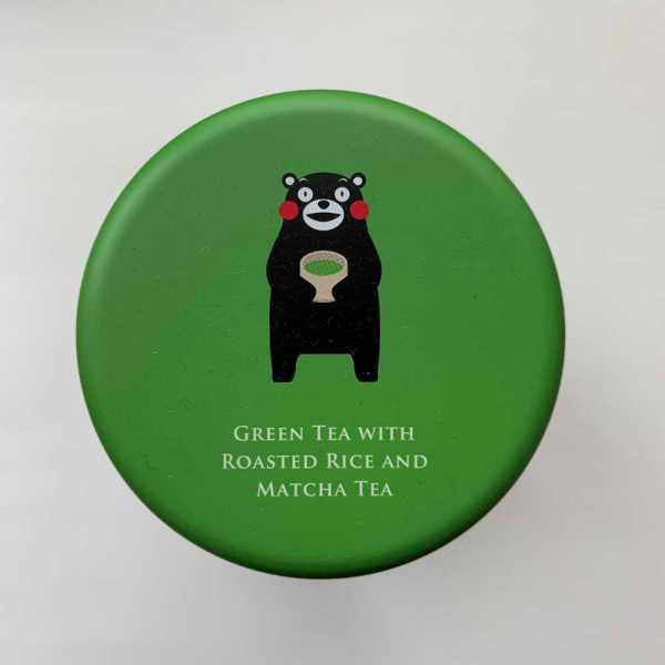 Boîte à thé vert Kumamon
