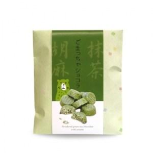 Chocolat thé vert matcha Uji au riz soufflé et sésame - Japon (100g)