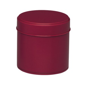 Boite à thé en métal