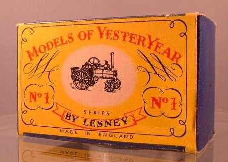 Yesteryear Box Type - A