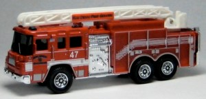 RW003-02 Pierce Quantum Aerial Ladder