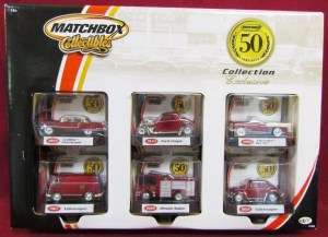 Matchbox 50th Anniversary Collection package