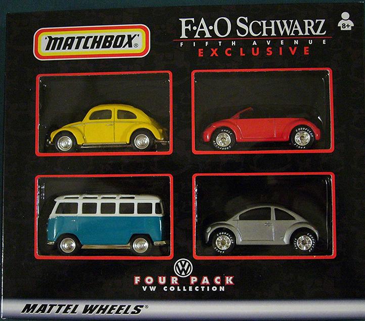 FAO Schwartz 4 Pack