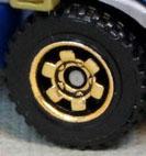 6 Spoke Ringed Gear - Gold