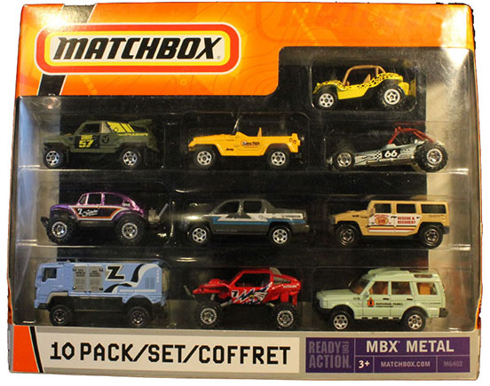 10 Pack : 2008 All Exclusive - Adventure