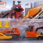 Matchbox 2007 Hitch N Haul : Construction Kings