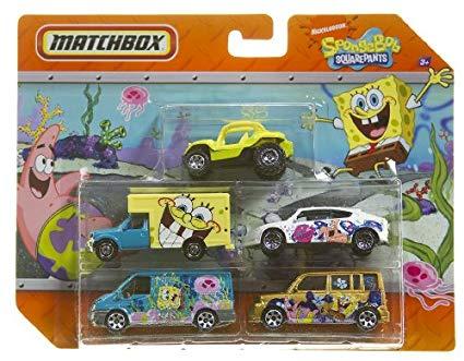 5 Pack - 2010 : Spongebob Squarepants