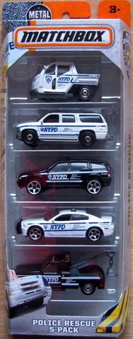 5 Pack #06 - Police Rescue