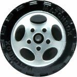 5 Spoke Oval - Chrome